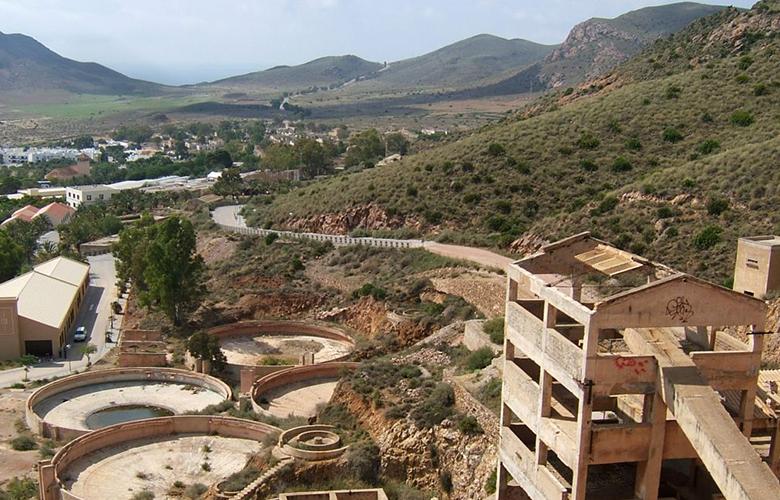 Cerro cinto en cabo de gata en almeria