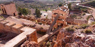 Minas de rodalquilar en cabo de gata en almeria