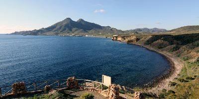 Mirador de la isleta del moro en cabo de gata en almeria